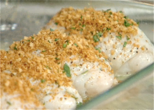 Baked Sole from American Text Kitchen